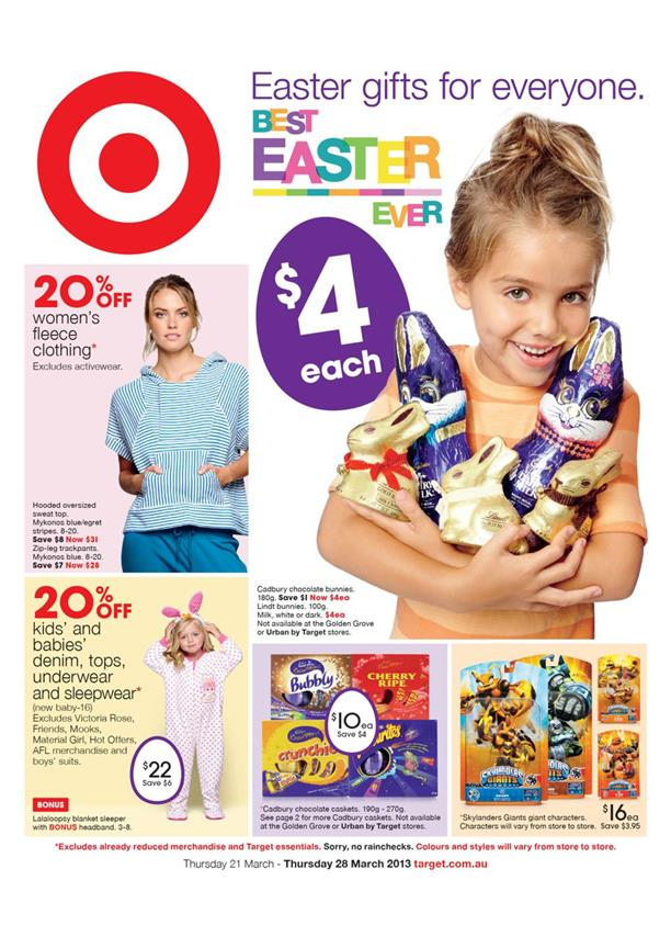 Target Catalogue - Best Easter Ever