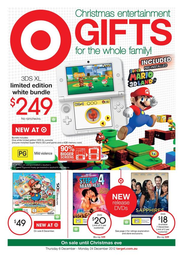 Target Catalogue - Christmas Entertainment Gifts For The Whole Family