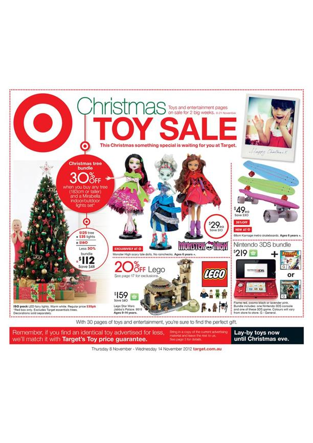 Target Catalogue - Christmas Toy Sale