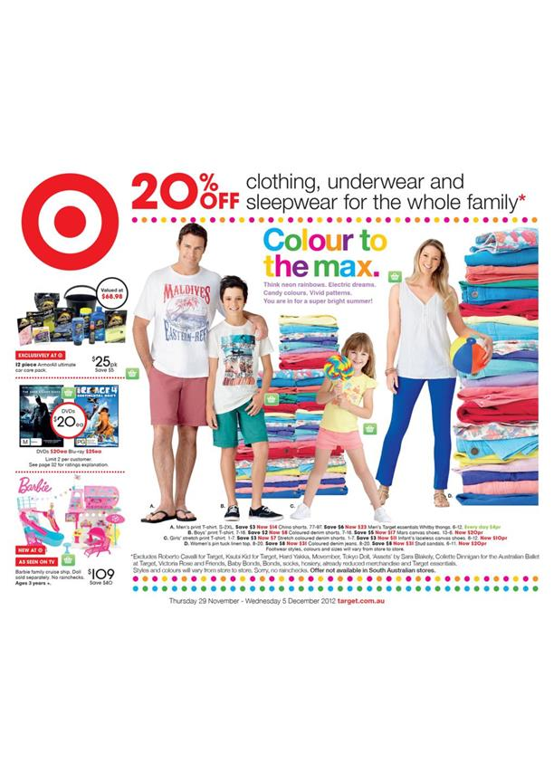 Target Catalogue - Colour To The Max