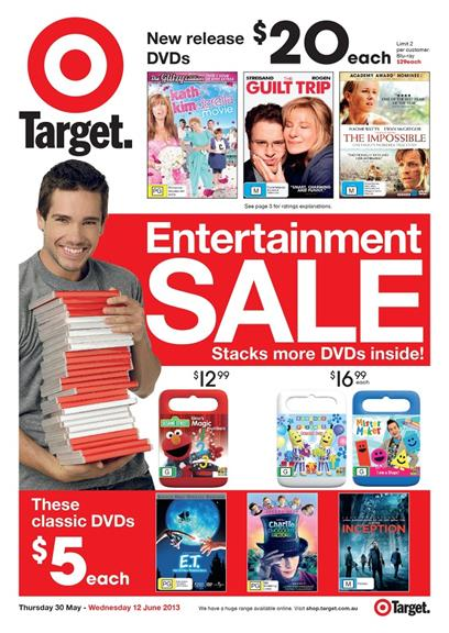 Target Catalogue - Entertainment Sale 2013