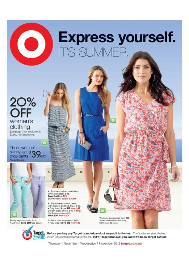 Target Express - Yourself Catalogue