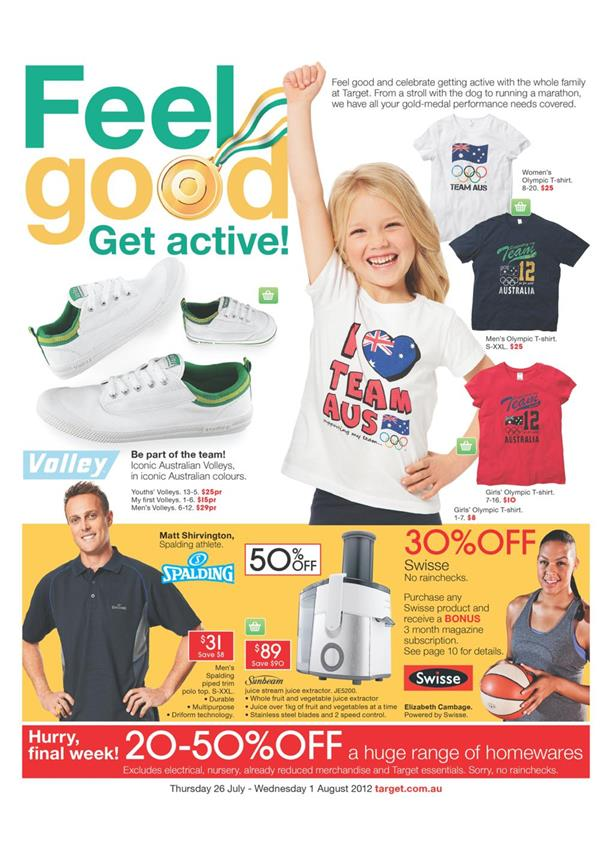 Target Catalogue - Feel Good Get Active