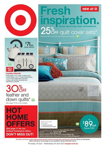 Target Catalogue - Fresh Inspiration