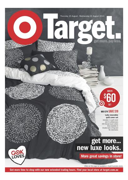 Target Catalogue - Get More New Luxe Looks