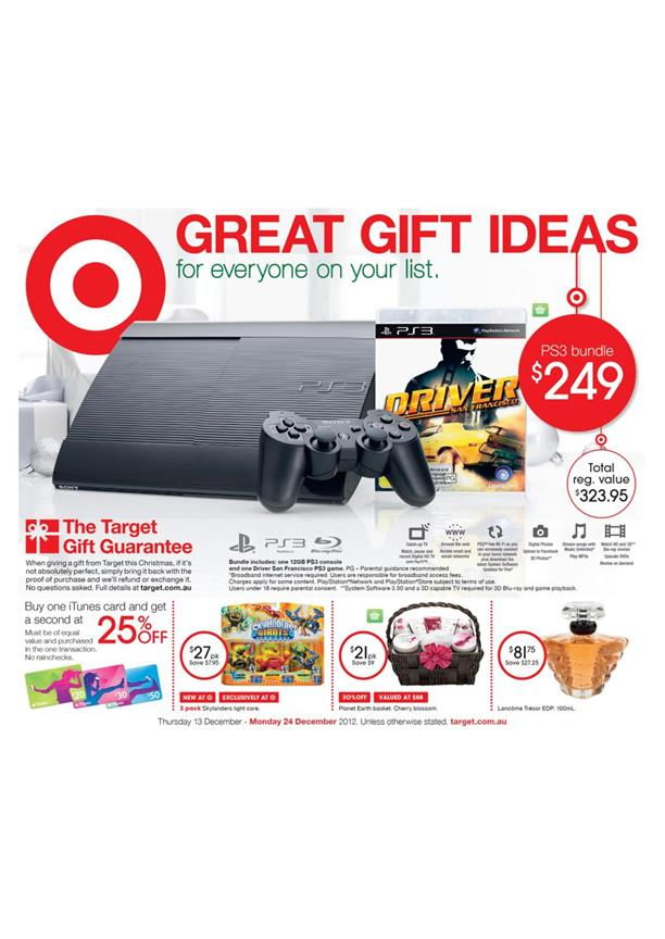 Target Catalogue - Great Gift Ideas