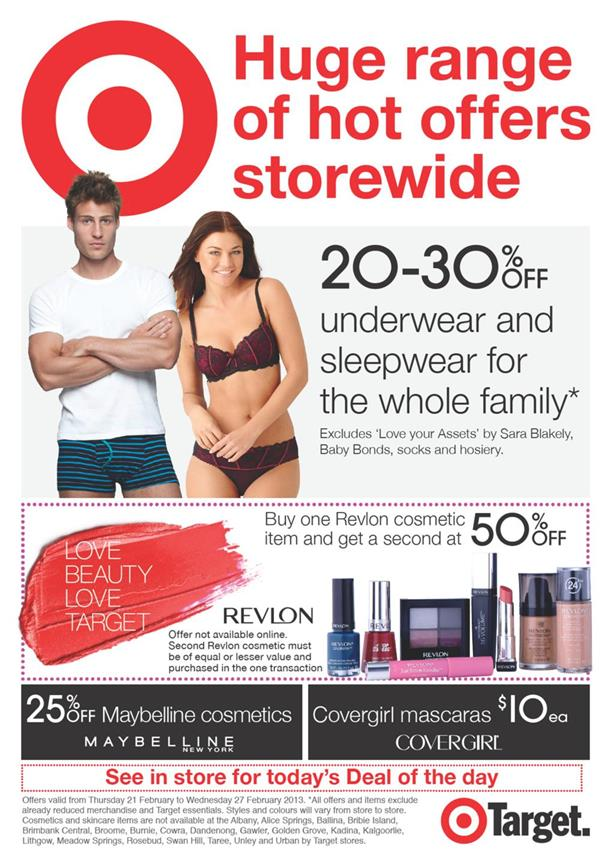 Target Catalogue - Huge Range Of Hot Offers Storewide