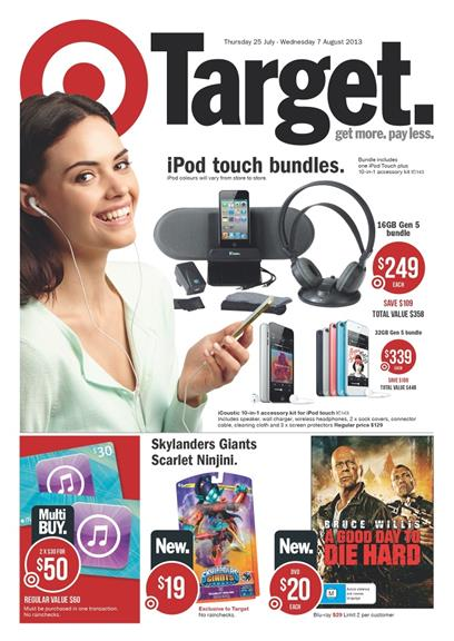 Target Catalogue - iPod Touch Bundles