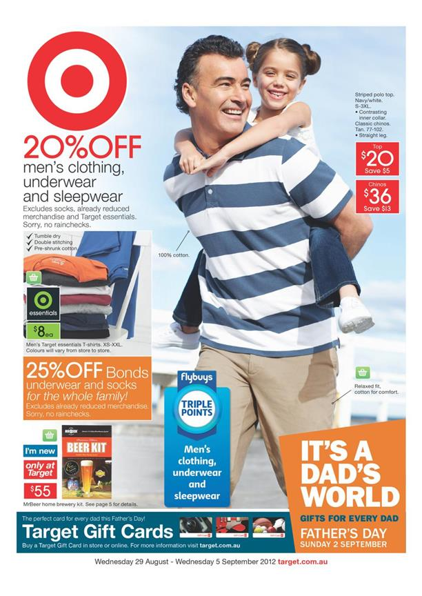 Target Catalogue - Its A Dad s World