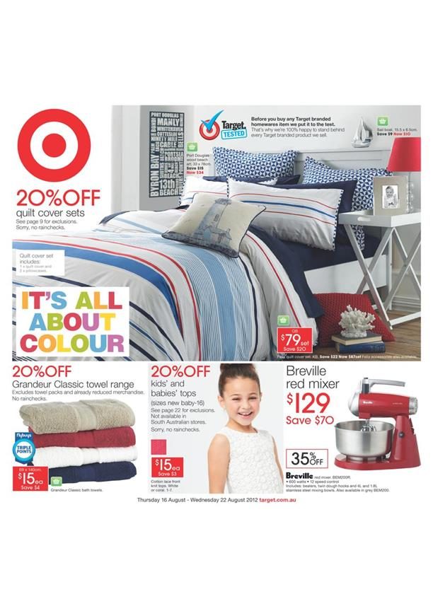 Target Catalogue - It's All About Colour 1608