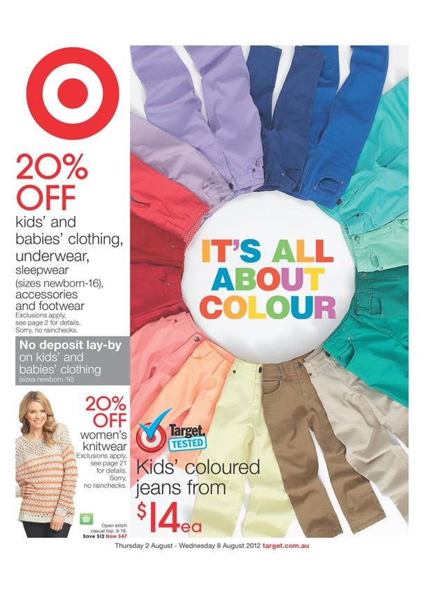 Target Catalogue - It is All About Colour