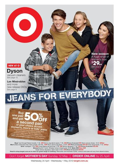 Target Catalogue - Jeans For Everybody
