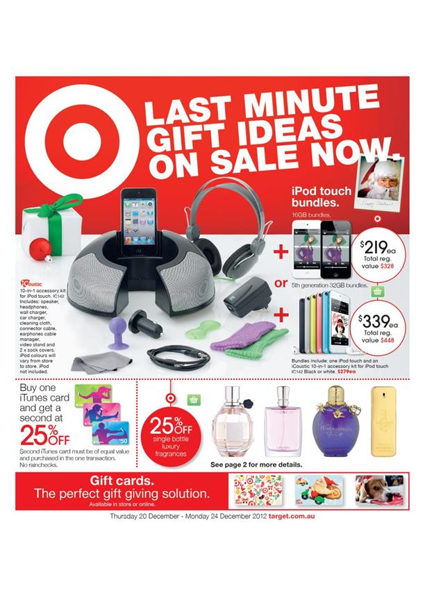 Target Catalogue - Last Minute Gift Ideas On Sale Now