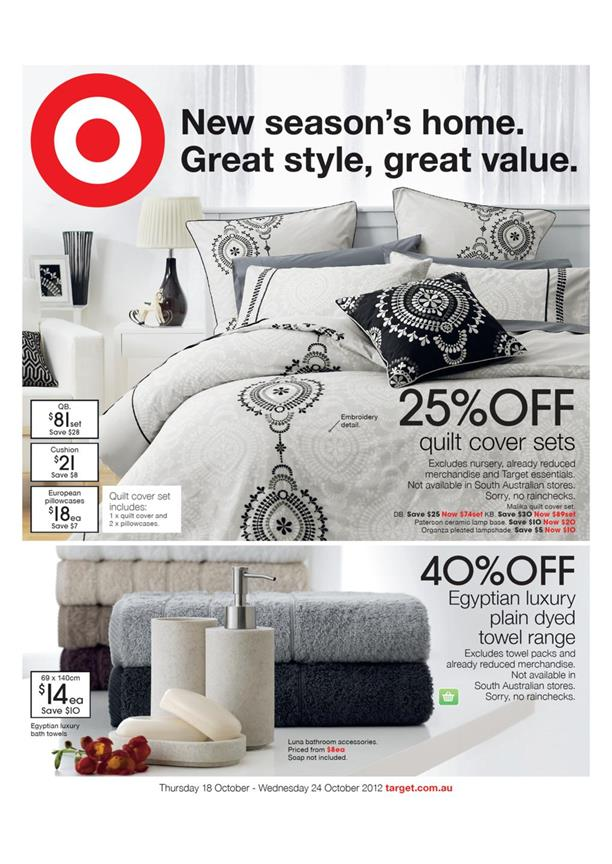 Target Catalogue - Lower Prices Same Great Quality Every Day