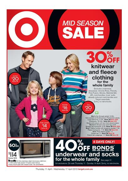Target Catalogue - Mid Season Sale WNT