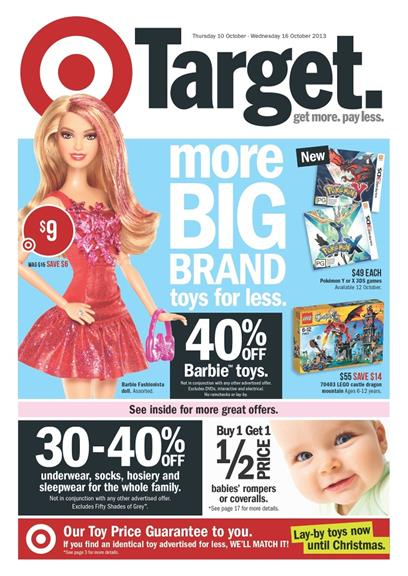 Target Catalogue - More Big Brand Toys For Less