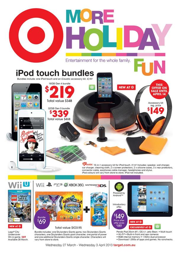 Target Catalogue - More Holiday Fun WNTA