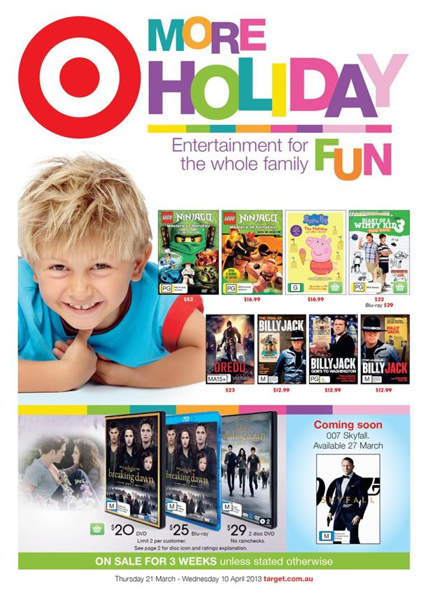 Target Catalogue - More Holiday Fun