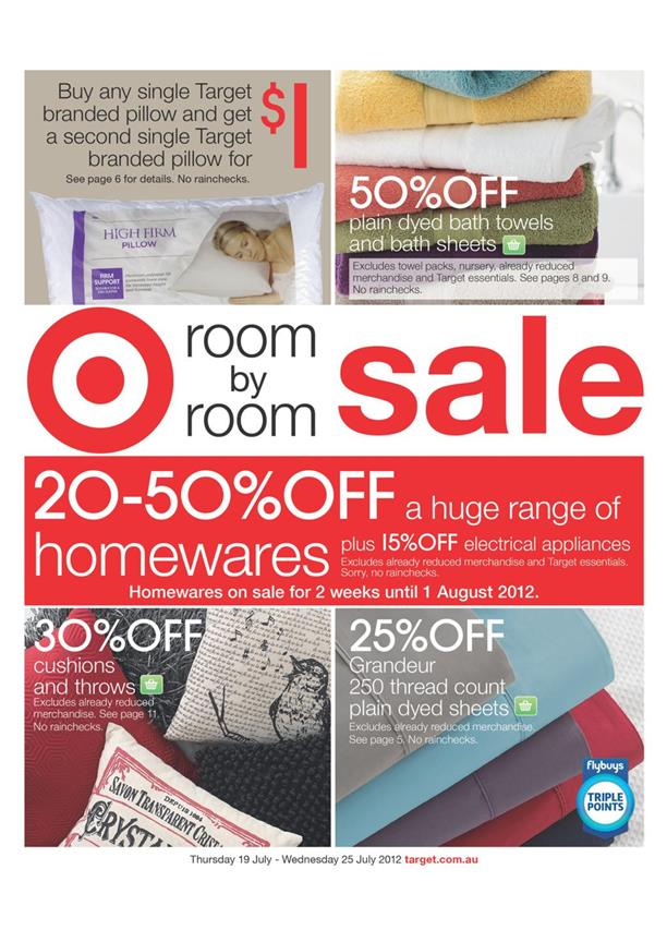 Target Catalogue - Room By Room Sale