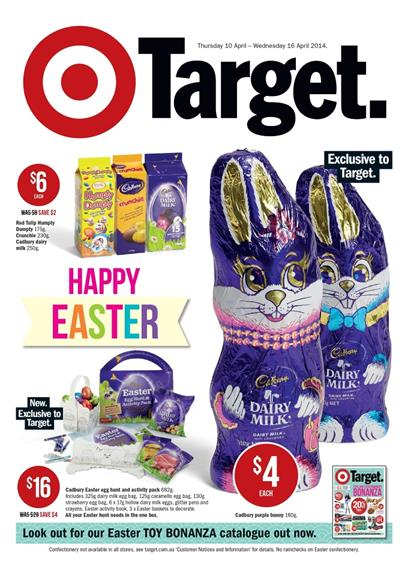 Target Catalogue April Easter Sale