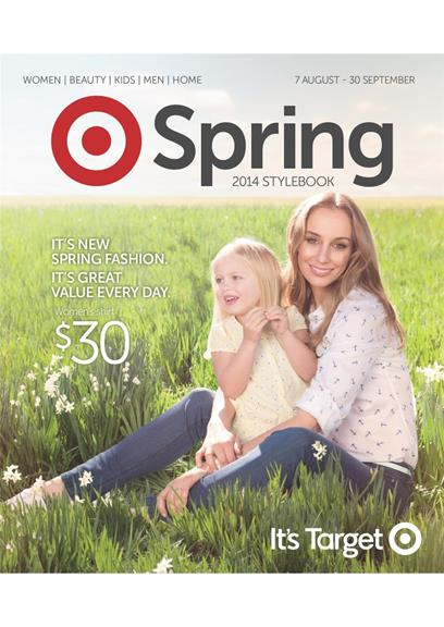 Target Catalogue August Spring Clothings 2014