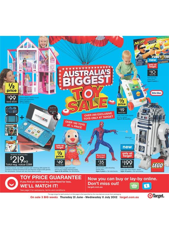 Target Catalogue - Australia's Biggest Toy Sale