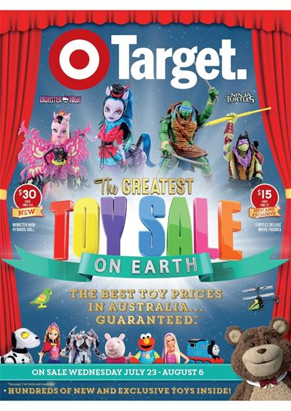Target Catalogue Australia Toy Sale 2014 July Review