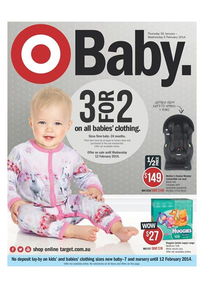 Target Catalogue Baby Products 2014