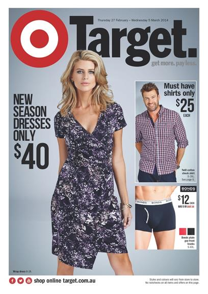 Target Catalogue Electronic Offers And Dresses