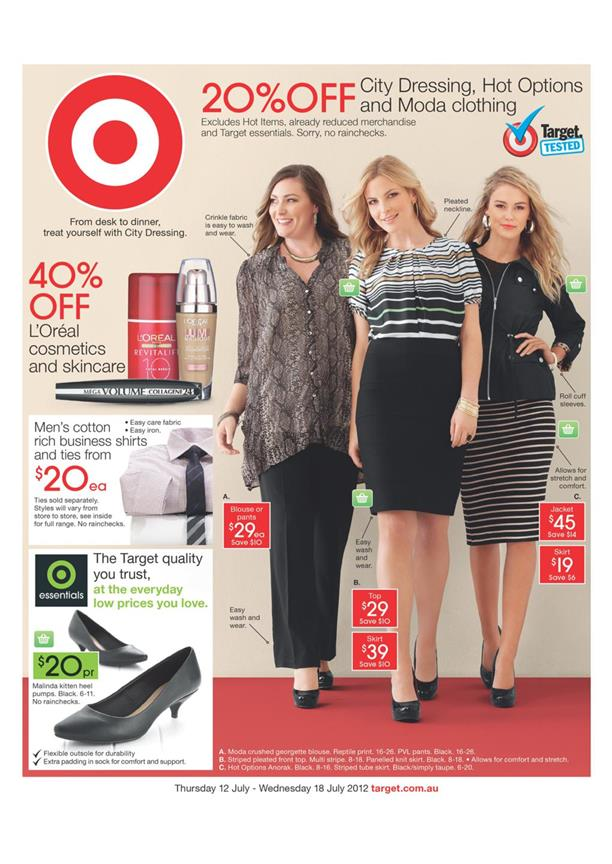 Target Catalogue - From Desk To Dinner, Treat Yourself with City Dressing