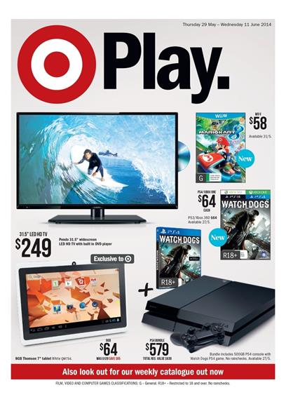 Target Catalogue Game Sale June 2014