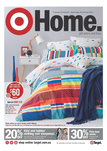 Target Catalogue Home Sale 2014 First Launch