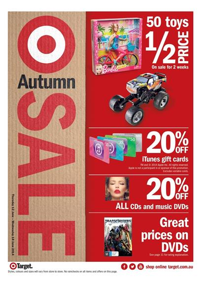 Target Catalogue Huge Toy Sale 2014