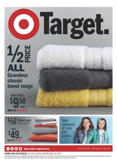 Target Catalogue July 2014 Home Sale