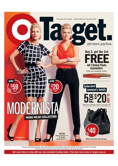 Target Catalogue Modernista Work Wear Collection