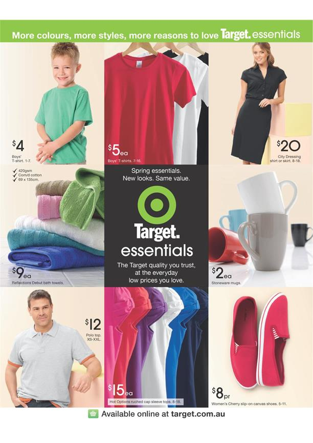 Target Catalogue -Target Essentials