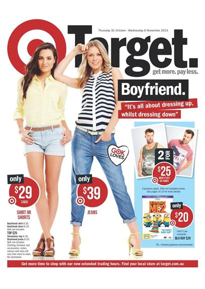 Target Gift Catalogue November 2013