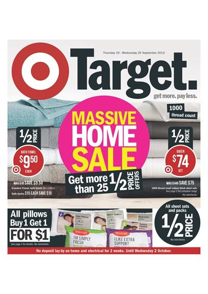 Target Home Decor Deals September 2013 Catalogue