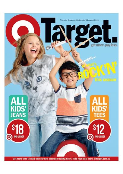 Target Kids Clothes Catalogue 2013 August