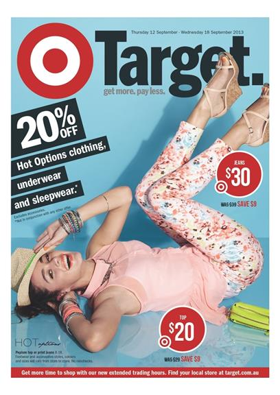 Target Online Womens Wear September Deals