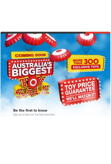Target Catalogue - Toy Sale Starting at 26th June with Great Brands