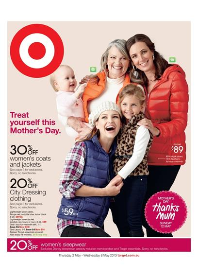 Target Catalogue - Treat Yourself This Mother's Day