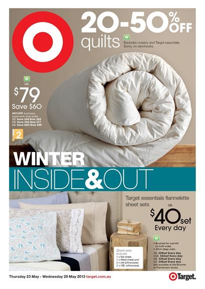 Target Catalogue - Winter Inside & Out