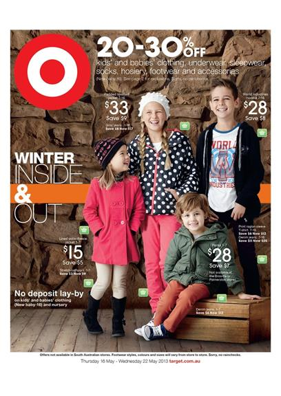 Target Catalogue - Winter Inside and Out
