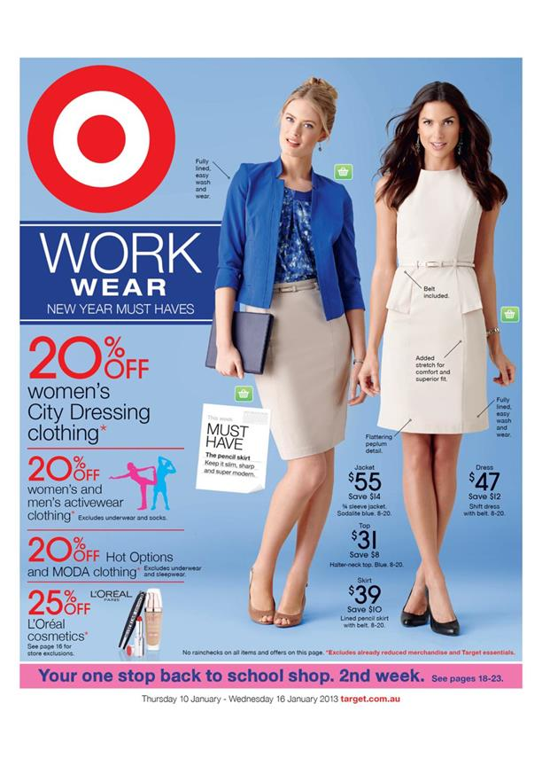 Target Catalogue - Work Wear